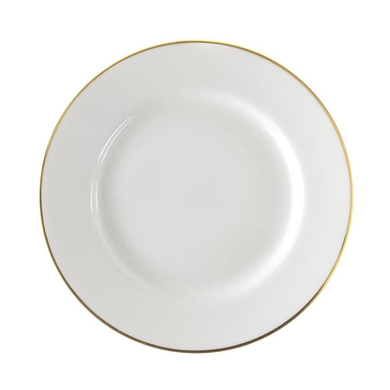 Lotus Silver Line Rim Soup