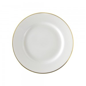 Lotus Silver Line Dinner Plate