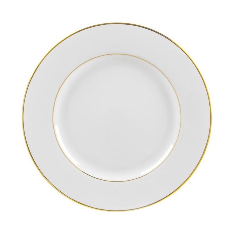 Luxor Platinum Luncheon Plate