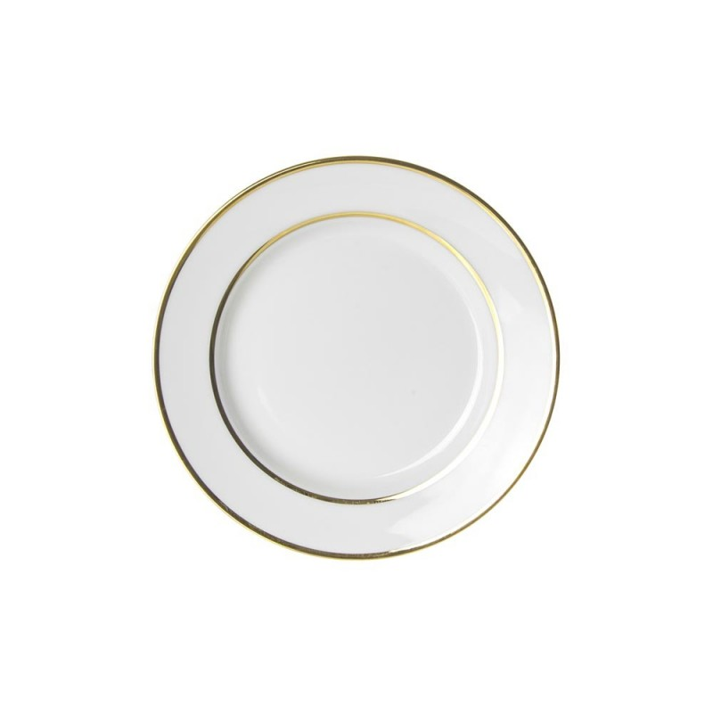 Luxor Gold Salad/Dessert Plate