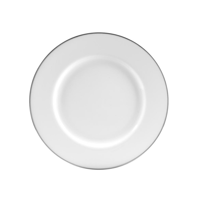 Royal Coupe White Luncheon Plate