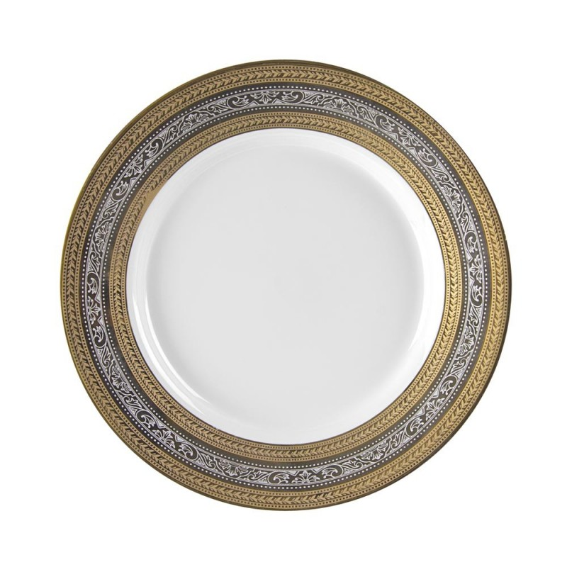 Royal White Dinner Plate 10""