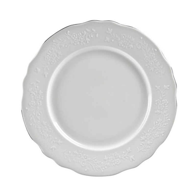 Royal White Dinner Plate 11""