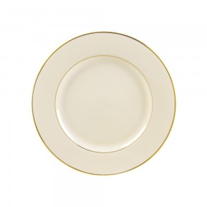 Sahara Black Luncheon Plate