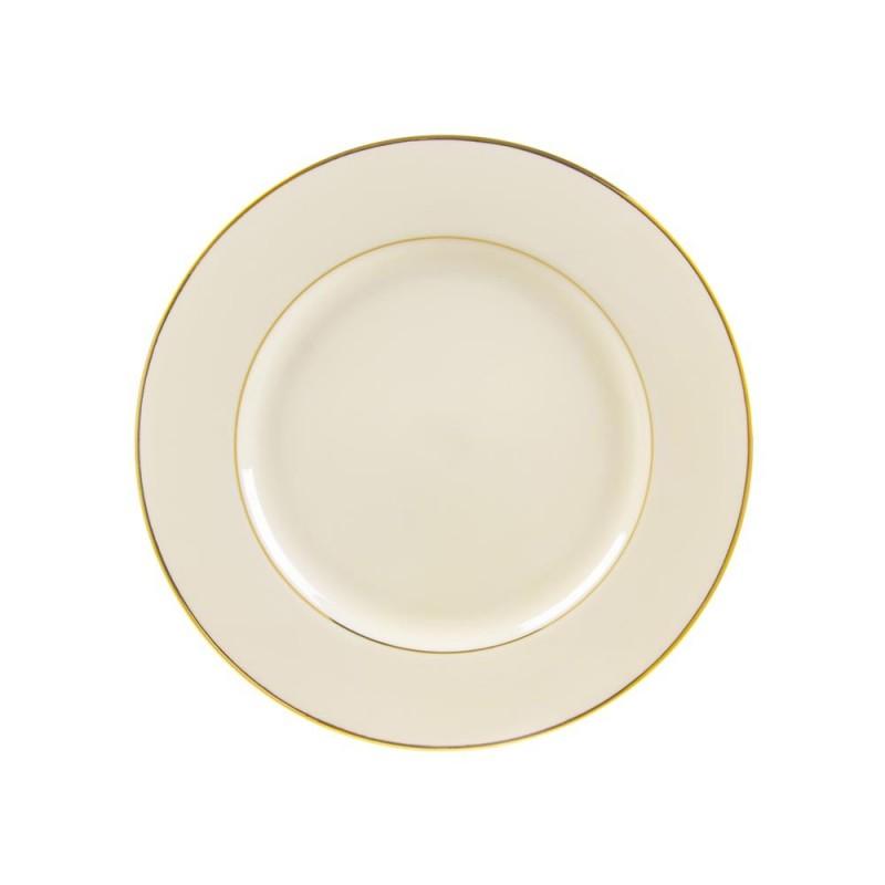 Sahara Black Luncheon Plate