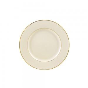 Sahara Black Salad/Dessert Plate