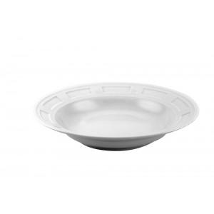 Swing White Dinner Plate