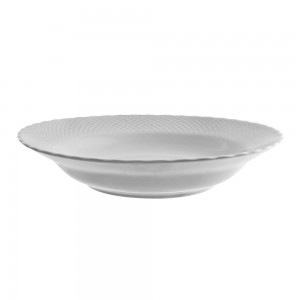 Vanessa Platinum Charger Plate