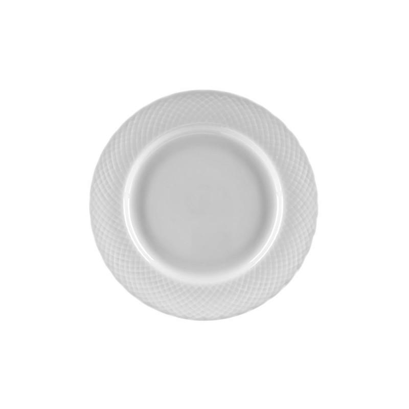Vanessa Platinum Luncheon Plate