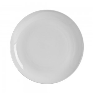 White Wicker Salad/Dessert Plate