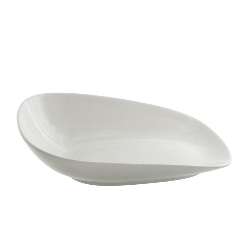 Whittier Rectangle Handled Platter 14""