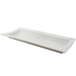 Whittier Rectangle Handled Platter 16""