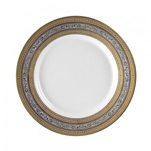 """Royal White Dinner Plate 10"""""""