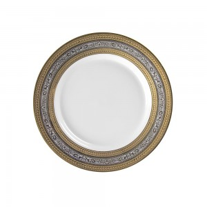 Royal White Luncheon Plate