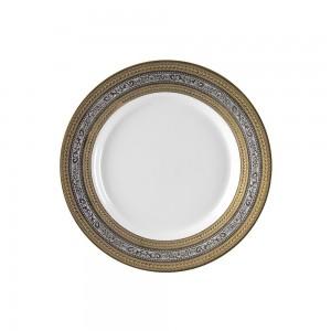 """Royal White Rim Soup 9"""""""