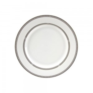 Royal White Charger Plate