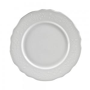 """Royal White Dinner Plate 11"""""""