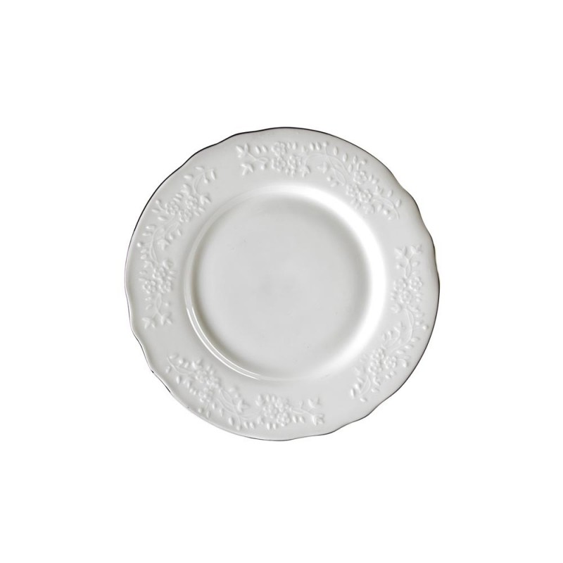 Royal White Footed Rice Bowl