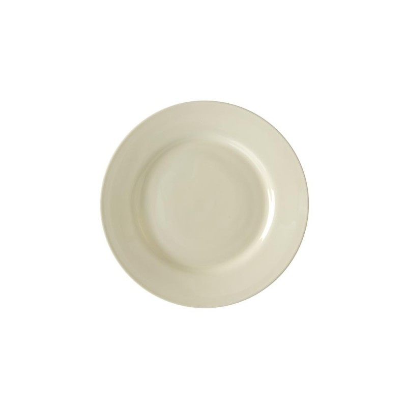 Silver Double Line Rim Soup