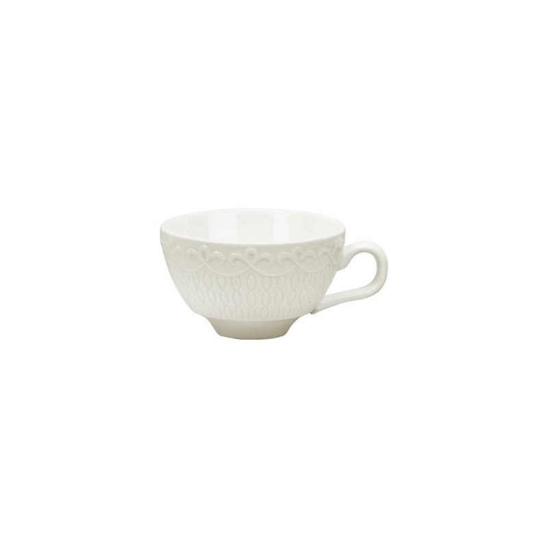 Silver Line Can Cup/Saucer