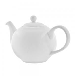 Z-Ware White Porcelain Rim Soup