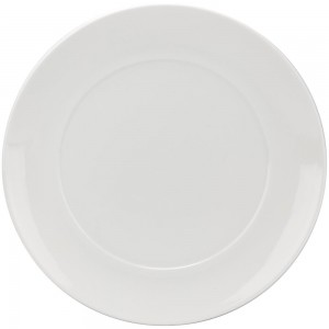 Delano White  Round Bakeware With Lid 8""