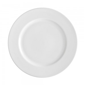 Lacquer Round Black Charger Plate
