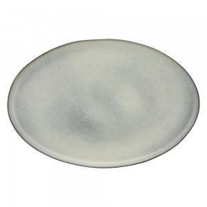 Black Coupe Dinner Plate