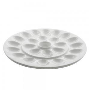 "Whittier Rectangular Platter W/ Handles 20"""