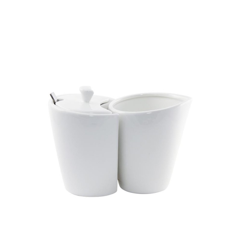 Whittier Zen Trapezoid Cup/Saucer